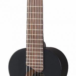 Yamaha Gl1bl Guitalele Nailonkielinen Kitara Musta Koko 1/8